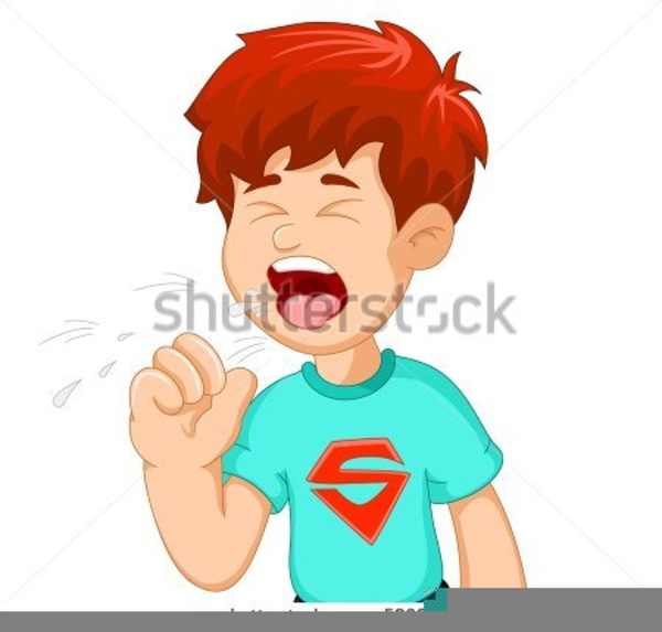 Child coughing free images. Cough clipart