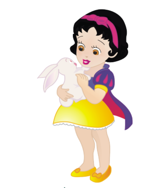 Maze clipart snow white. De princesas disney ni
