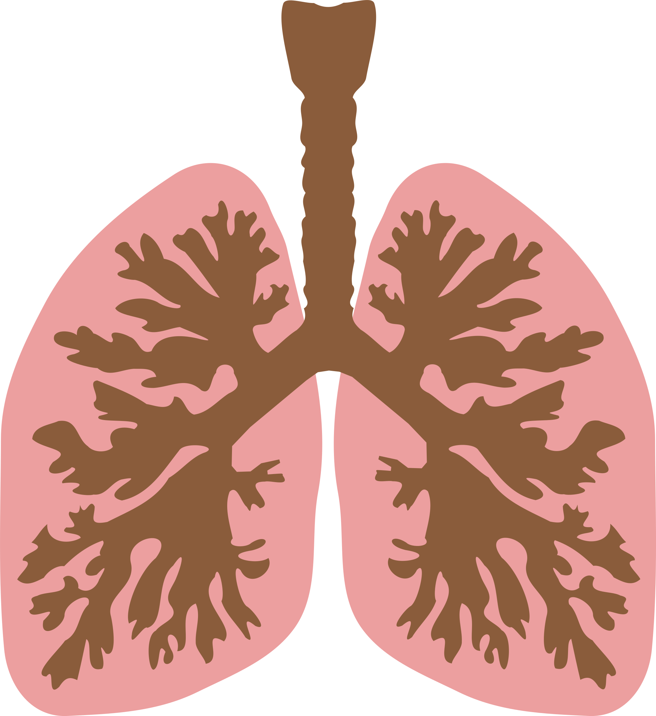 Lung panda free images. Lungs clipart coughing