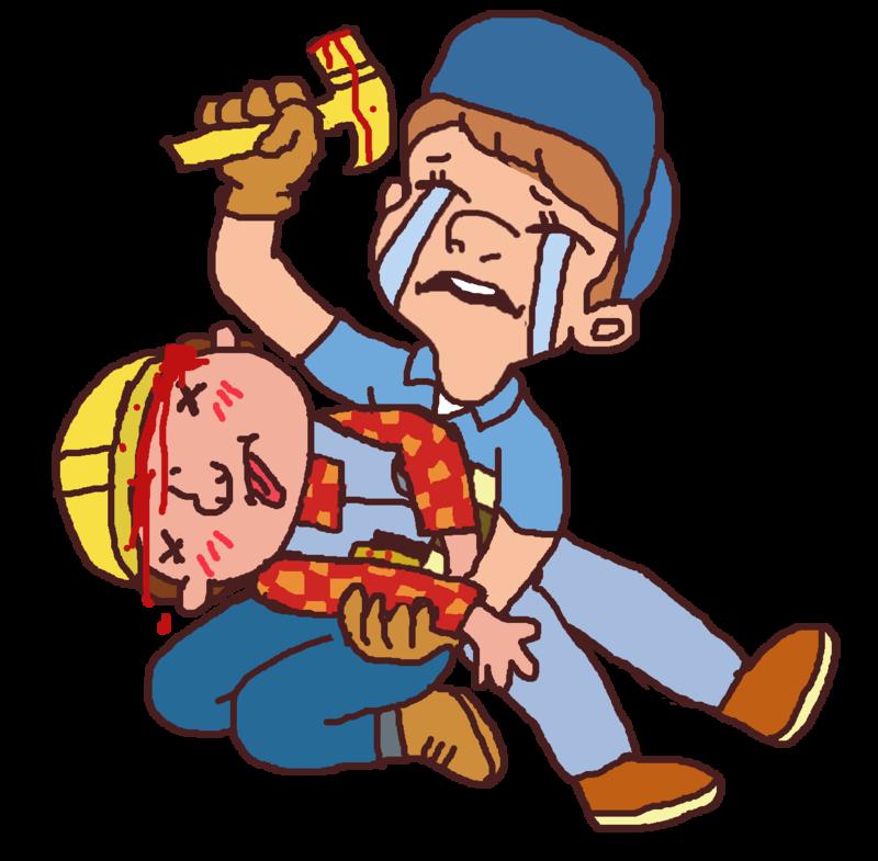 Cough clipart horrible. Bbbbbob tthe builderr dies