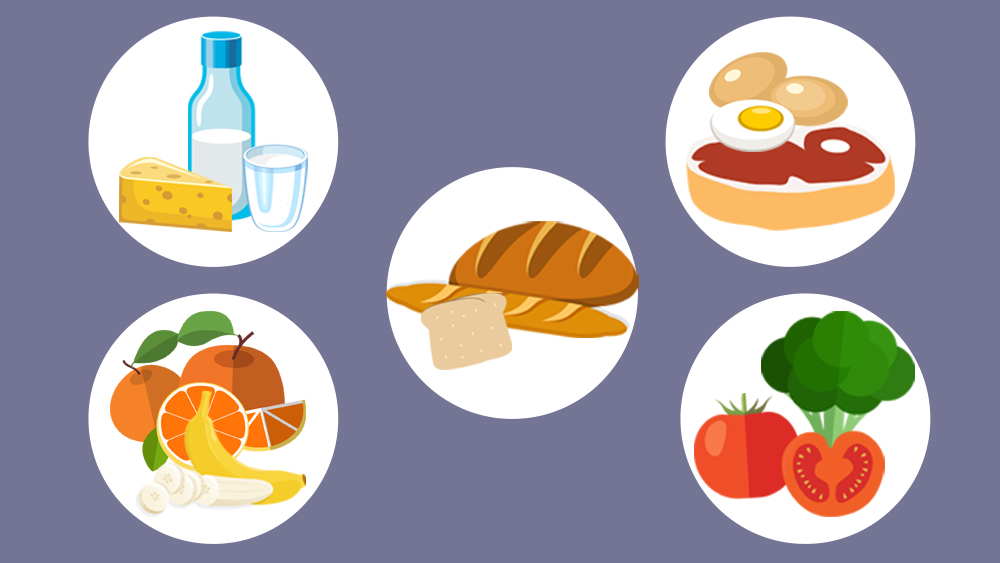 Eating for children healthdirect. Young clipart healthy baby