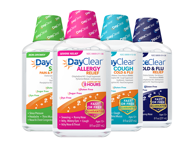 Cough clipart liquid medicine. Clear allergy relief sinus