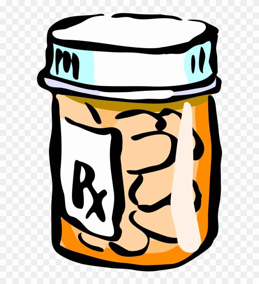 Free pill bottle download. Drug clipart medicine container