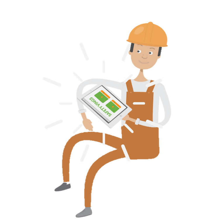 Ving training for people. Organized clipart product safety