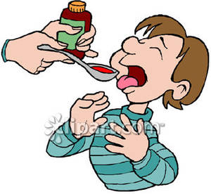 And cold drink prompt. Cough clipart syrup