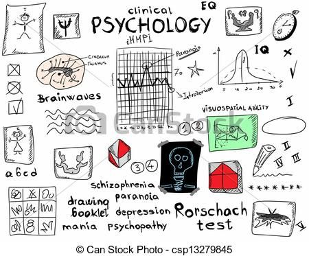 Psychology clipart abnormal psychology. Psychologist illustrations and