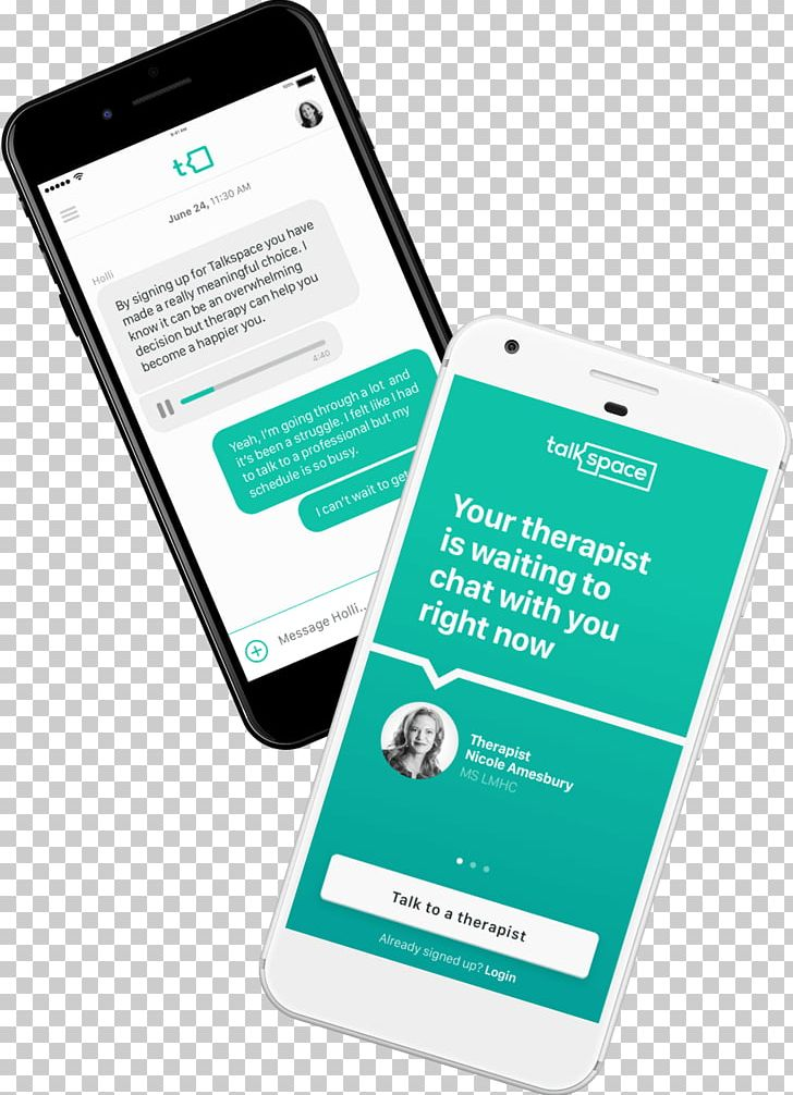 Counseling clipart communication. Talkspace therapy online smartphone