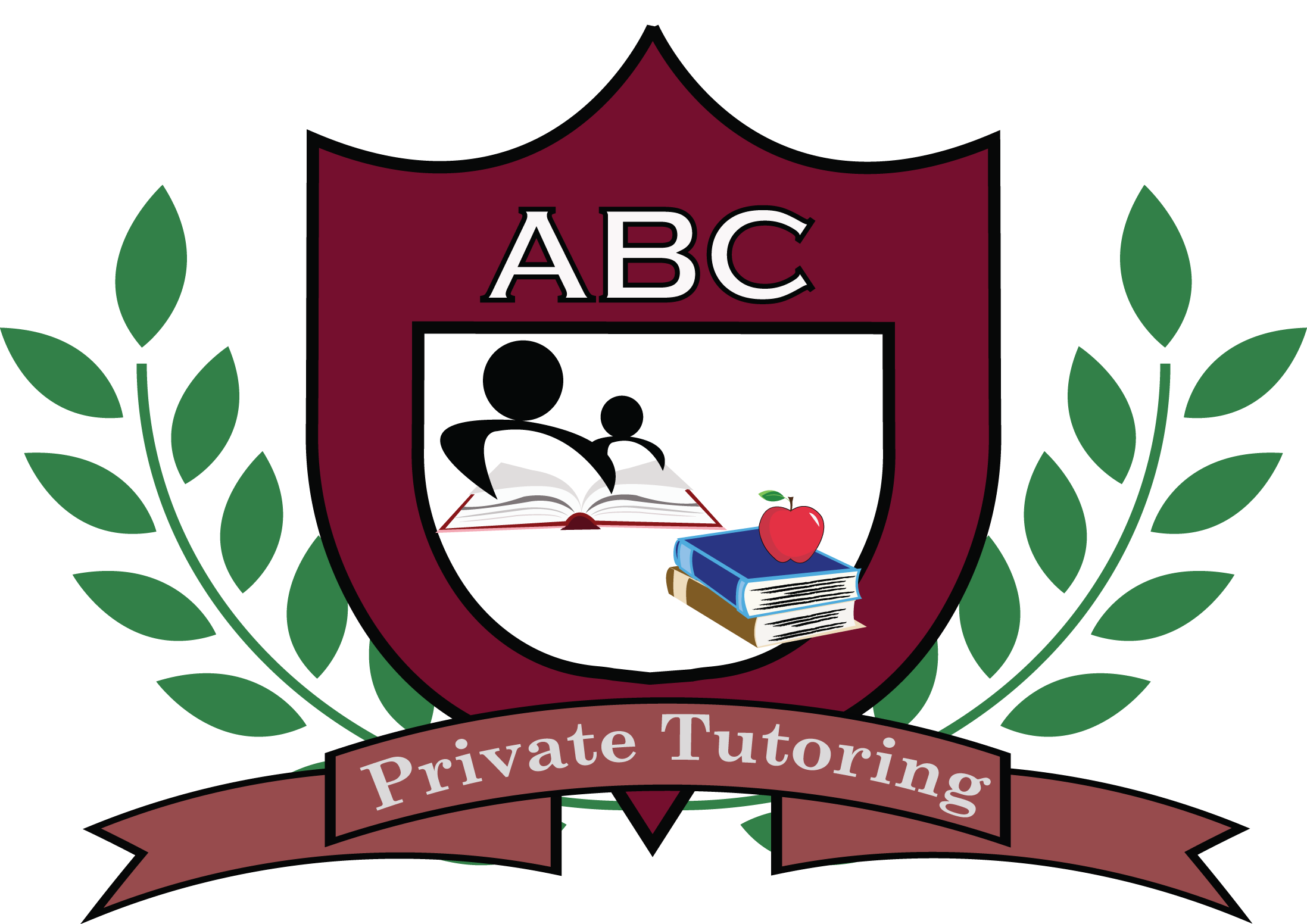 One on abc private. Textbook clipart tutoring
