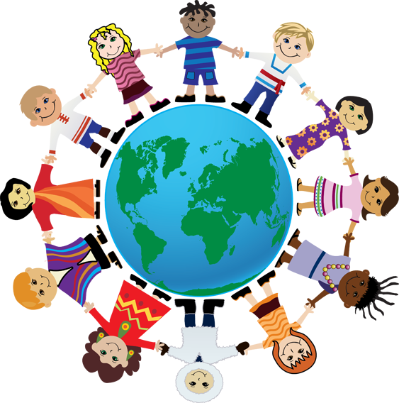 Group friendship day clip. Counseling clipart peer counseling