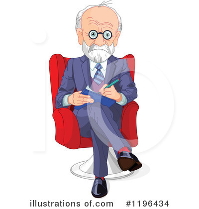 Therapist illustration by pushkin. Counseling clipart psychologist