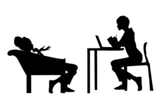 Counseling clipart therapist chair. The psychotherapist of psychology