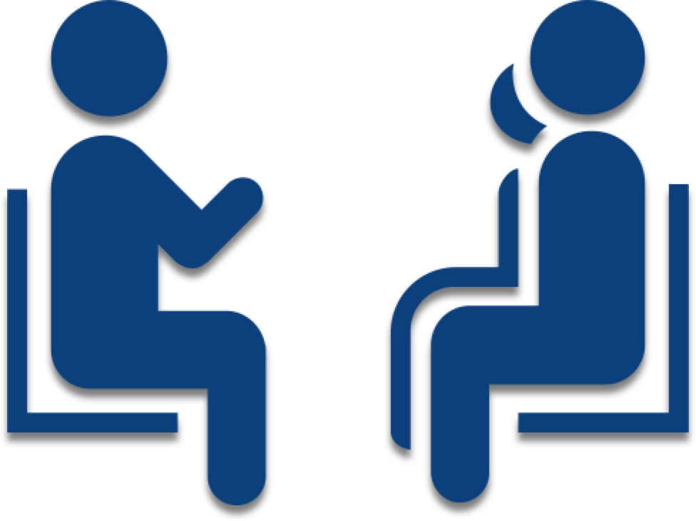 Counseling clipart two different person. Services relationship
