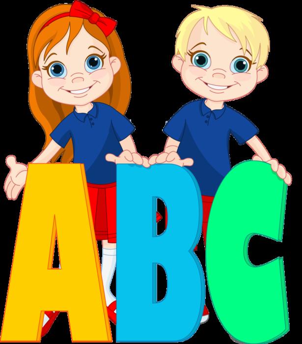 Kids clipart alphabet. Ni os jugando pinterest