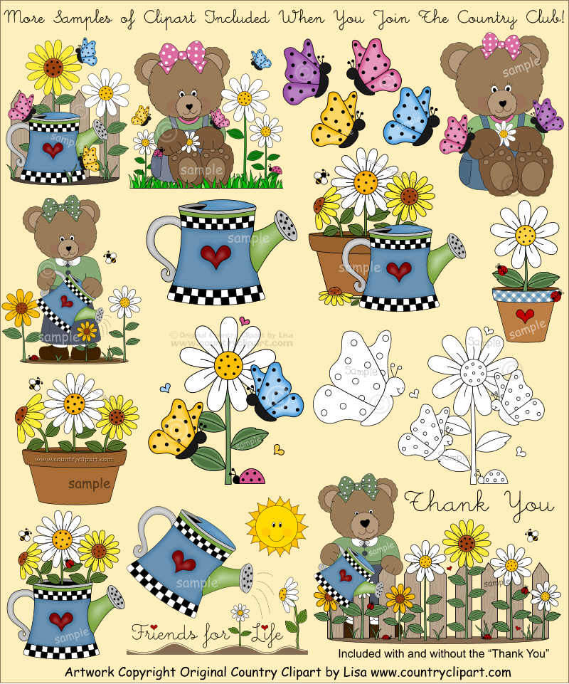 For digital printables and. Country clipart