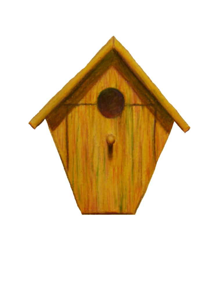 Drawing images at getdrawings. Country clipart birdhouse