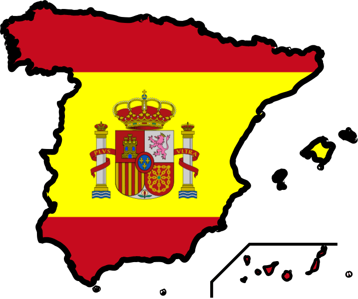 Spain third most visited. France clipart travel