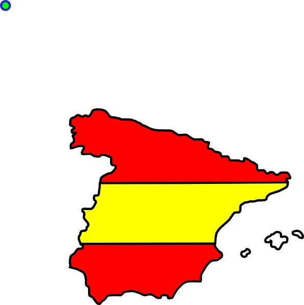 Of spain . Country clipart country flag