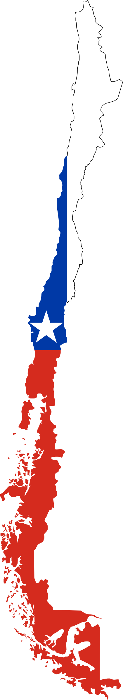 Country clipart country flag. Chile map