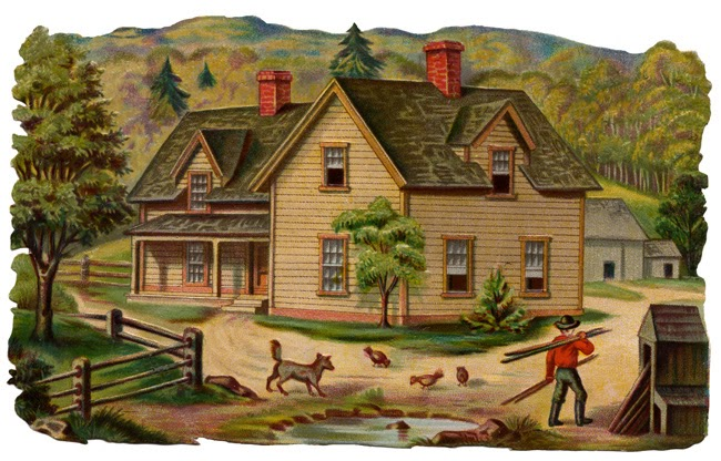 Free house cliparts download. Home clipart country home