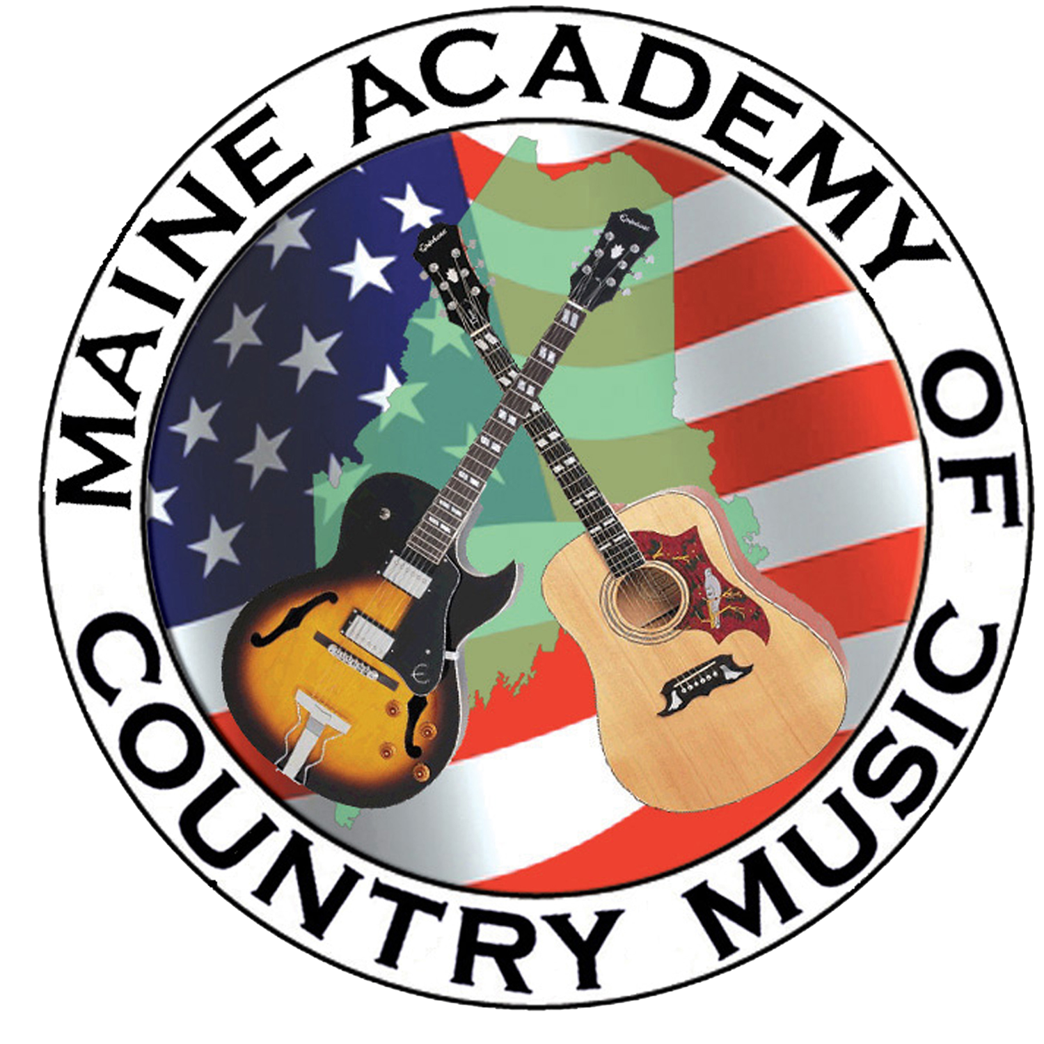 Maine academy of country. Hillbilly clipart banjo