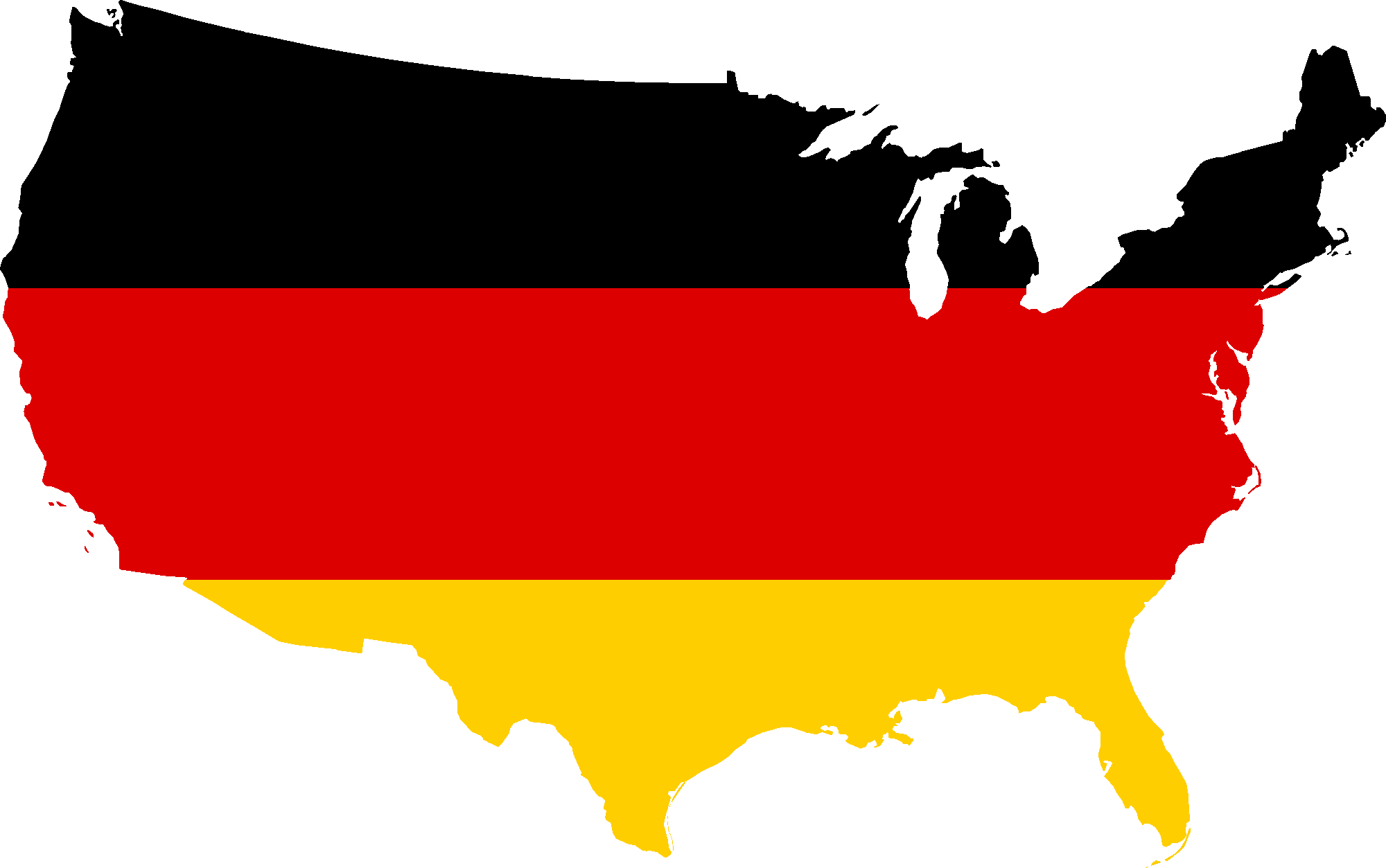 United states clipart map.  collection of germany