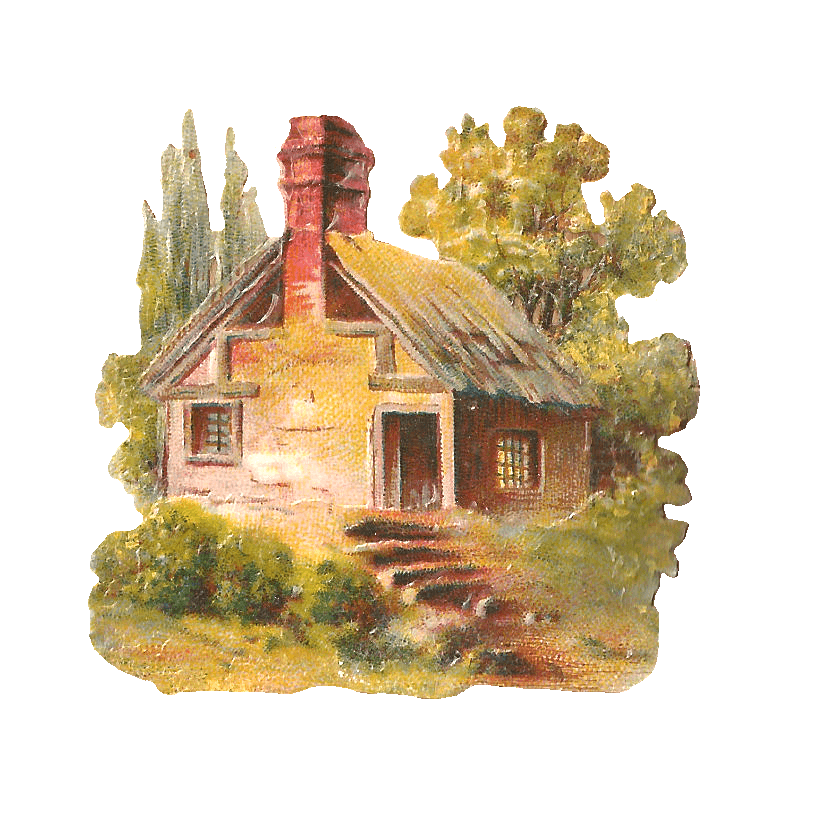 Cliparts zone cottage style. Country clipart cute country