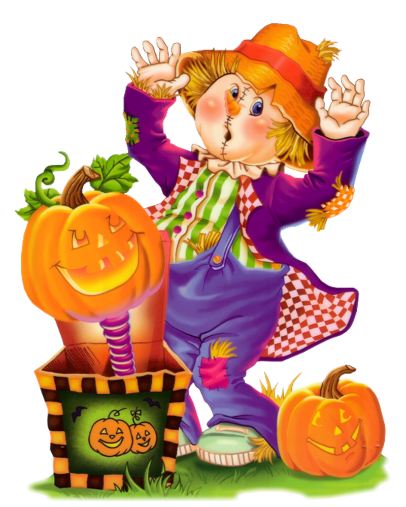 Scarecrow pencil and in. Country clipart cute country