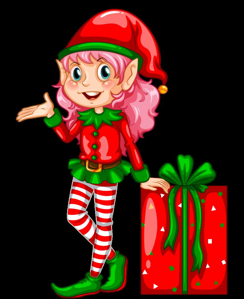 png pinterest natal. Stamp clipart elf