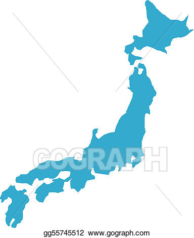 Stock japan gg gograph. Country clipart illustration