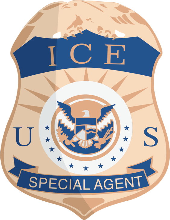 Evidence clipart badge. Supervisory criminal investigator assistant