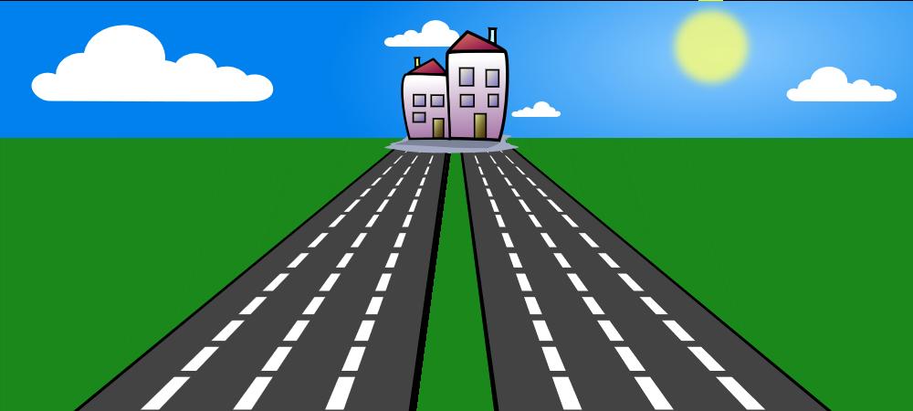 Fork clipart road, Fork road Transparent FREE for download ...