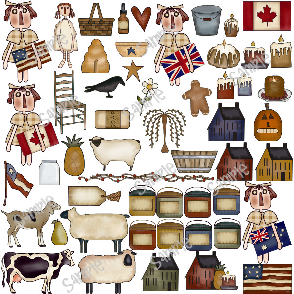 Free cliparts download clip. Country clipart primitive