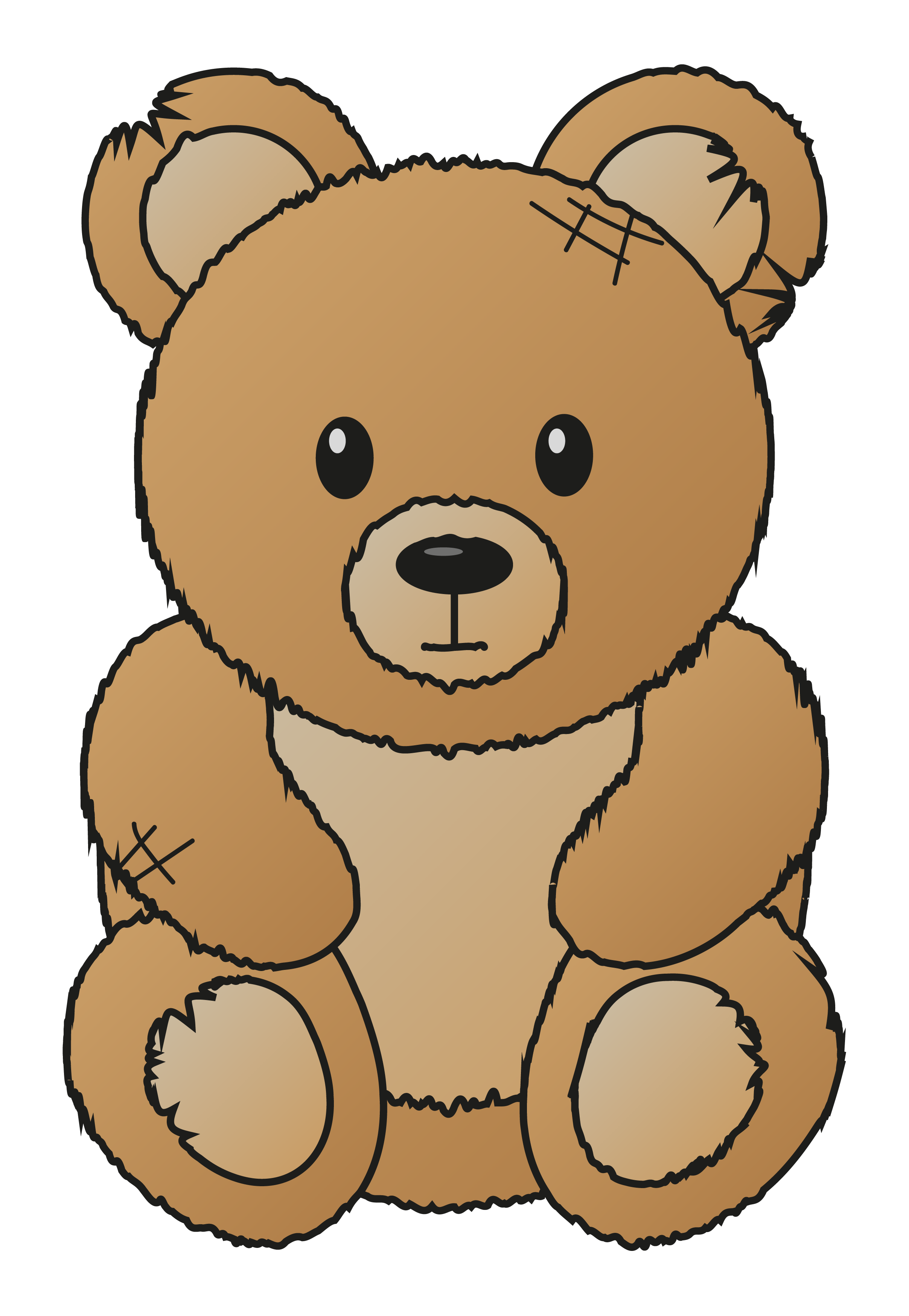 Medical clipart teddy bear. Bears on stairs world