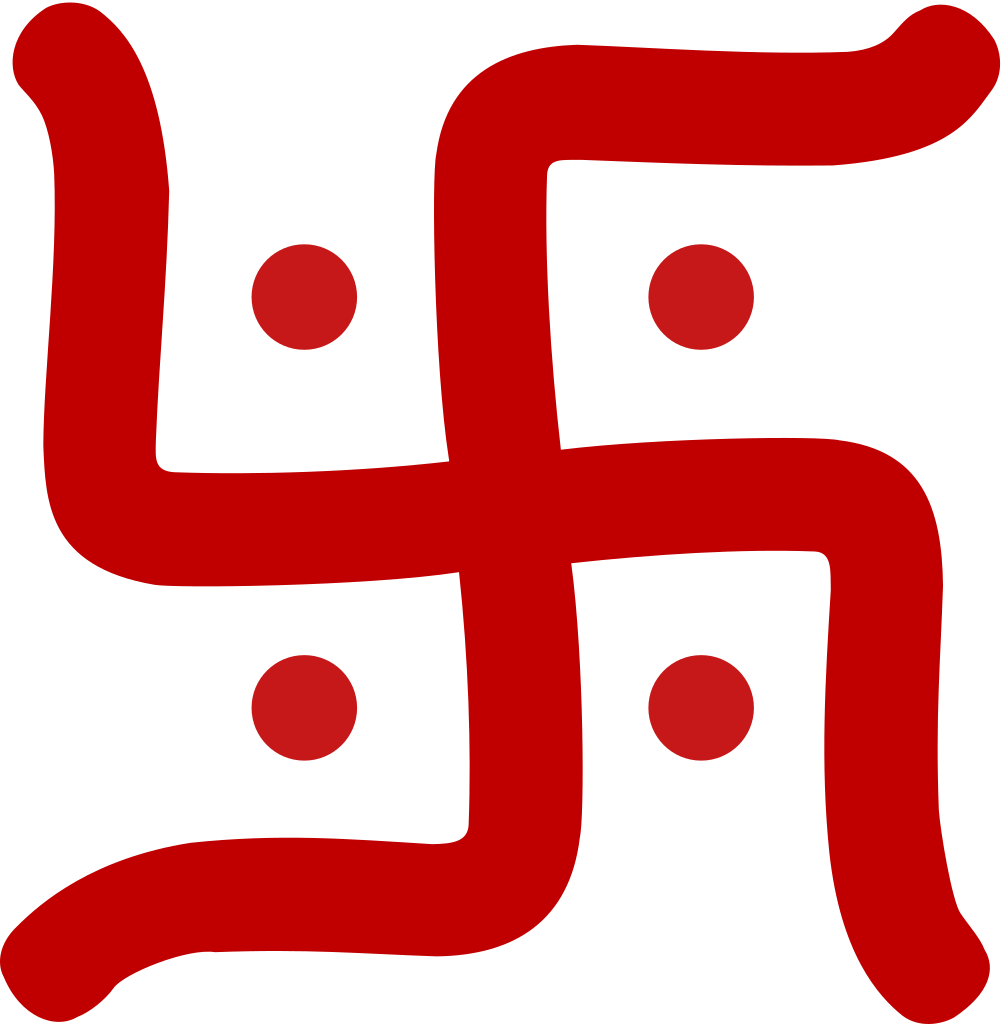 collection of swastik. Couple clipart bengali