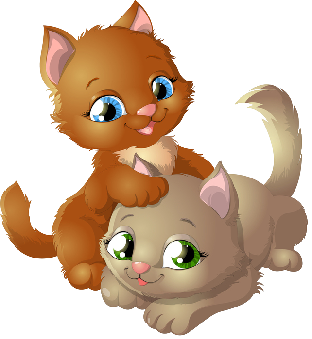 large png cats. Kitty clipart winter