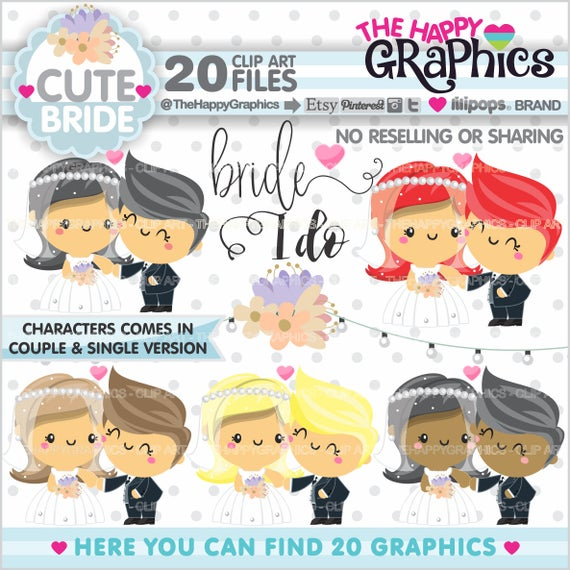 Couple clipart celebration. Bride commercial use graphic