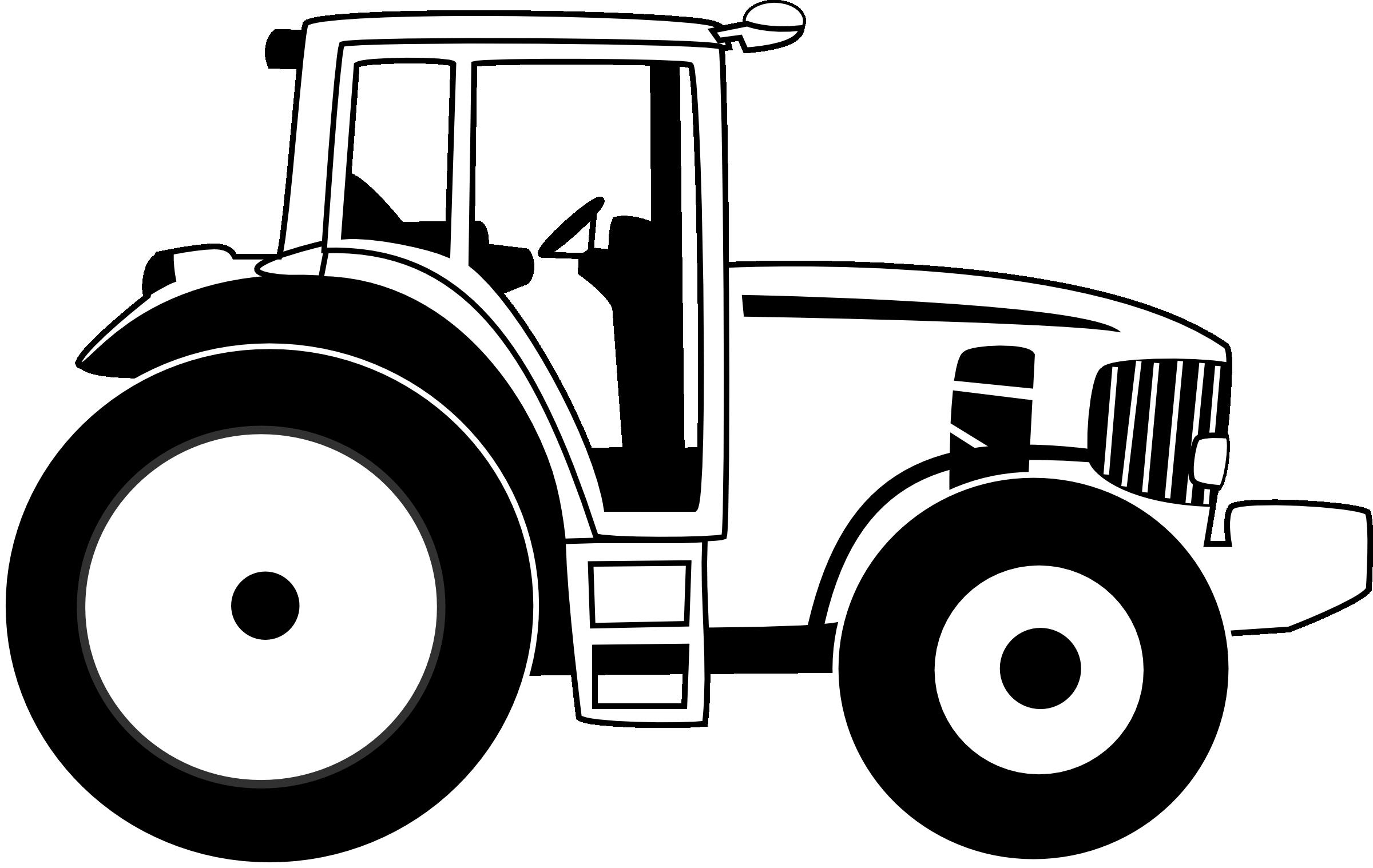 Farm line drawing free. Harvest clipart truck
