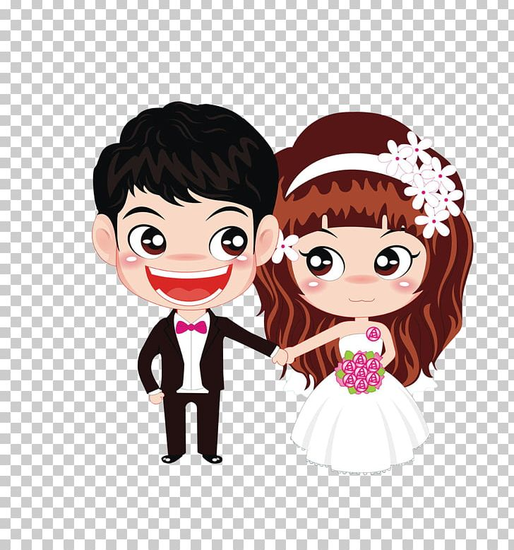 Marriage couple wedding love. Engagement clipart animated