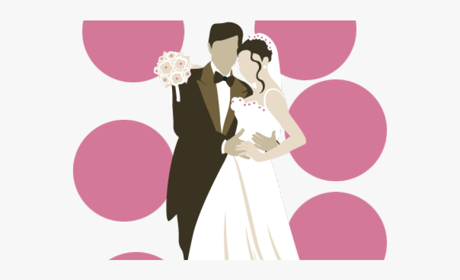 Couple clipart file. Married wedding invitation png
