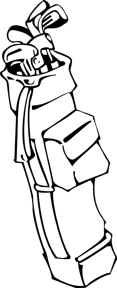 golf clipart angry