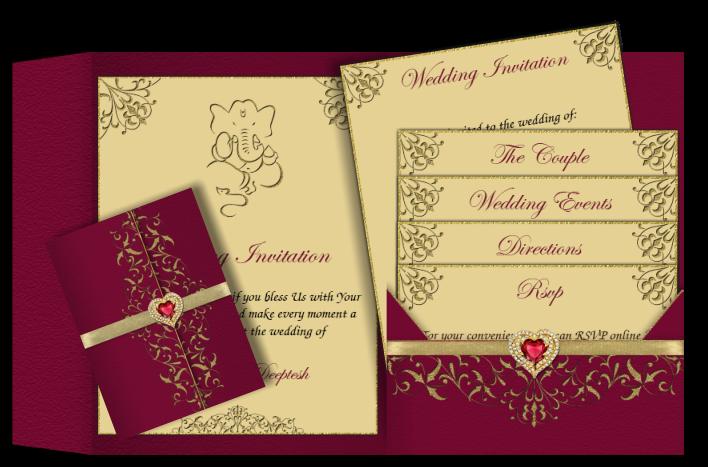 Couple clipart malay. Wedding card design artistic
