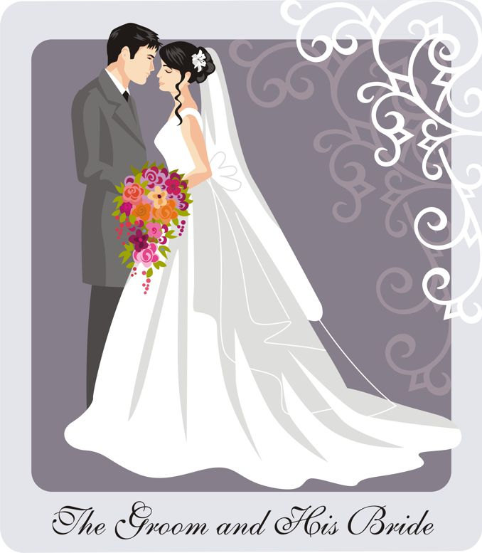 Free couples cliparts download. Marriage clipart married couple