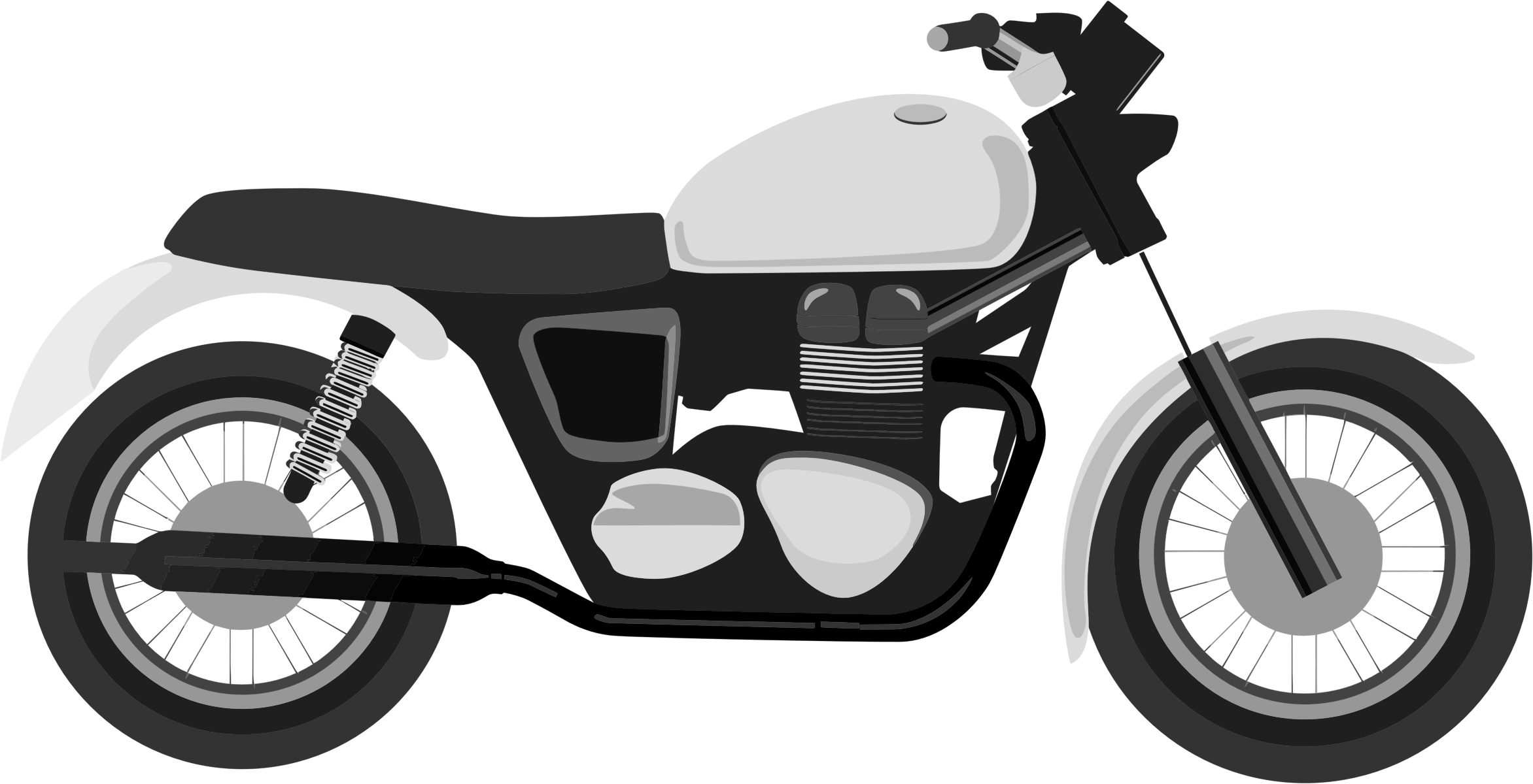 motorcycle clipart images coloured motorcycle in the vector depicted