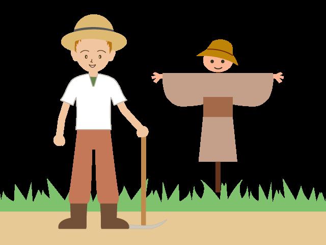 farmer clipart couple