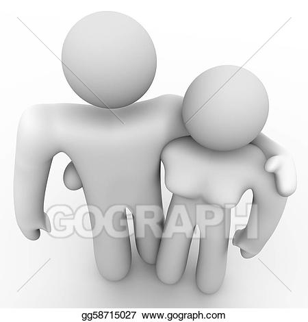Couple clipart passionate. Stock illustrations man and