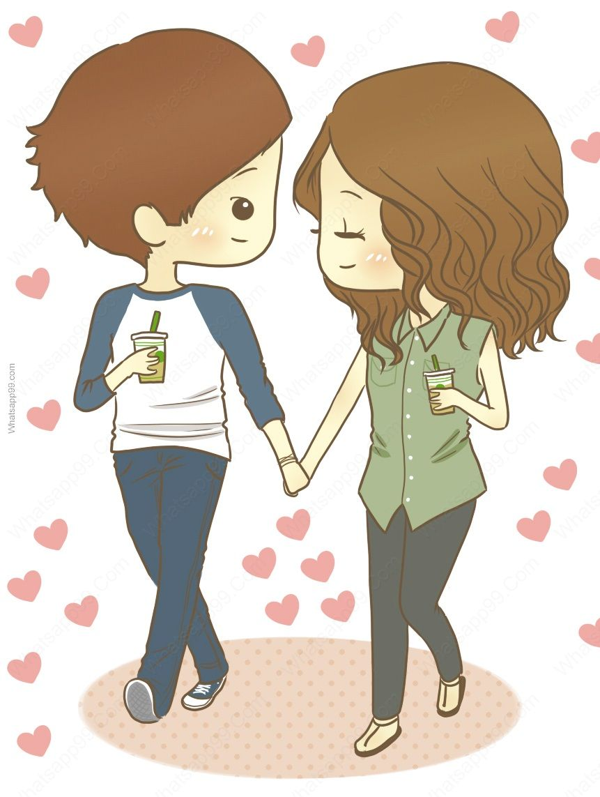 Couple clipart perfect couple. Free cute cartoon download