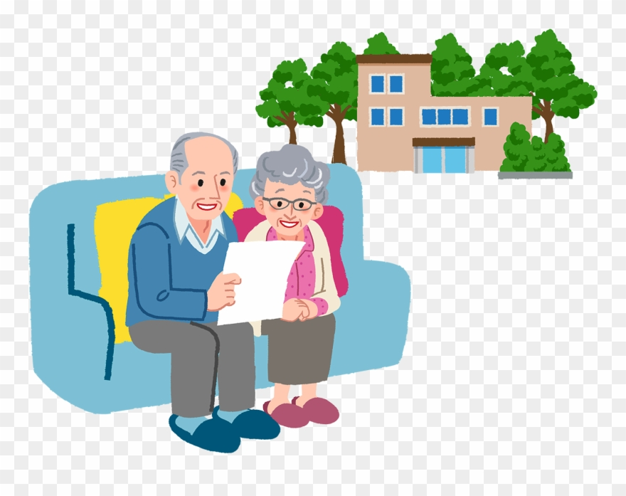 Retired sitting on a. Couple clipart retirement