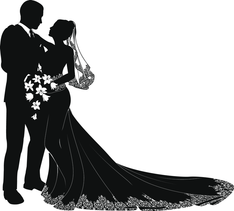 Couple clipart sikh. Free vector art silhouettes