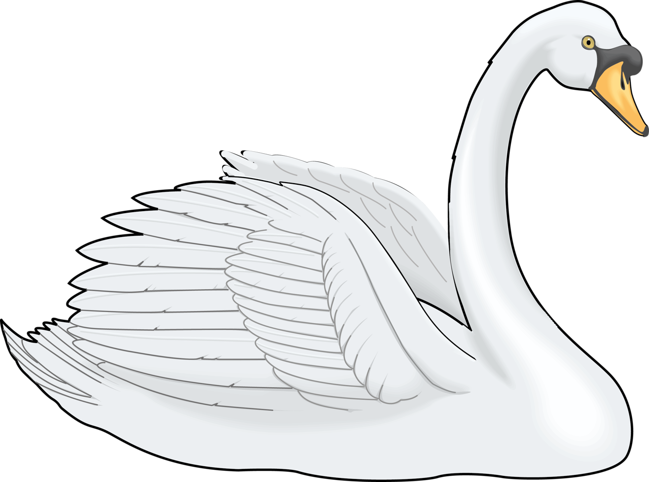 Couple clipart swan. Cygnini painting clip art