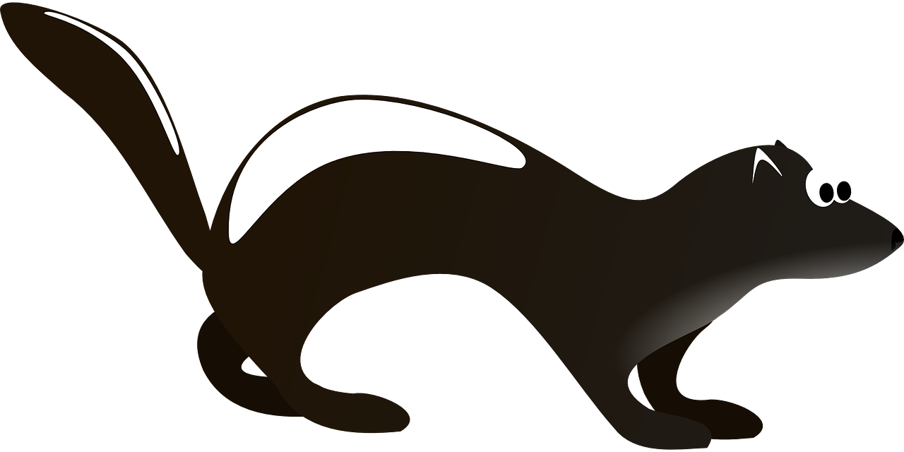 Couple clipart vector art. Skunk collection a craftsuprint